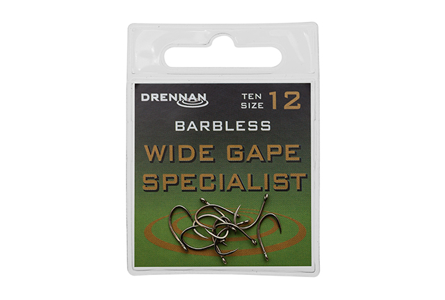 Drennan Barbless Wide Gape Specialist